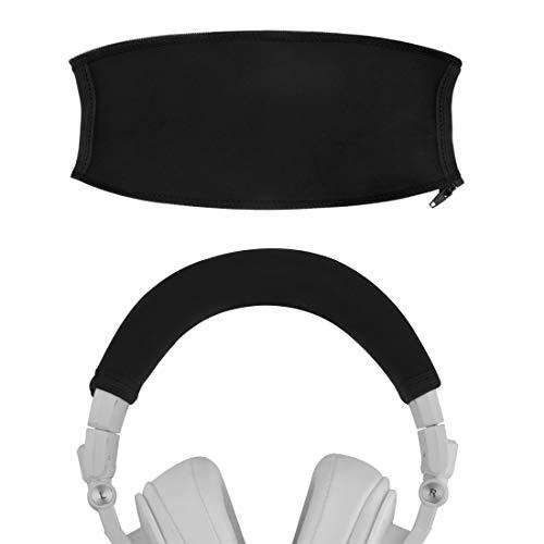 geekria Haarband Cover Kompatibel Ath M50x, M50x WH, M50x BB Kopfhörer/Kopfhörer Bügel Protector Reparatur Teilen/Einfache DIY Installation Kein Werkzeug erforderlich -