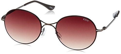 IDEE Gradient Round Unisex Sunglasses - (IDS2063C3SG|51|Brown Gradient lens) image