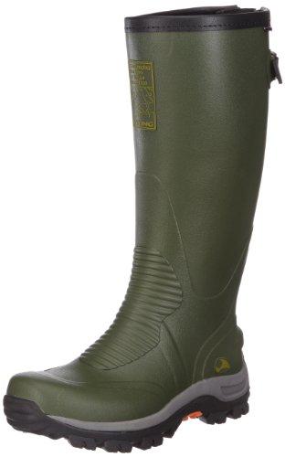 Viking Elk Hunter Unisex Erwachsene Langschaft Gummistiefel Grün (Green/Black 402)