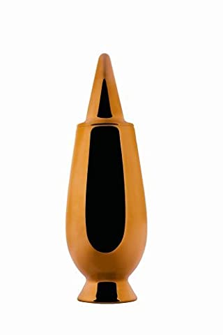 A di Alessi 100% Make Up Vase à couvercle en miniature en fine bone china by Alessi
