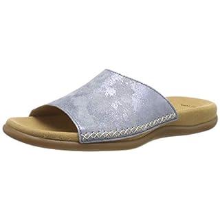 Gabor Shoes Damen Jollys Pantoletten, Blau (Aquamarin 66), 39 EU