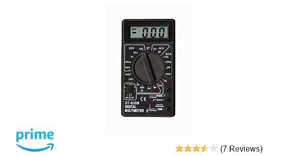 Digital Multimeter Stromprüfer Vielfach Messgerät Voltmeter Spannungsmesser BGS