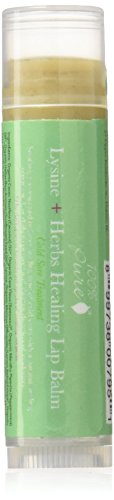 Lip Treatment Balm (100% Pure Naturkosmetik Lysine + Herbs Healing Lip Balm - Cold Sore Treatment, Net wt. 0.15 oz / 4,25 g)