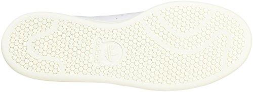 adidas Stan Smith, Sneaker a Collo Basso Uomo Bianco (Chalk White/Chalk White/Off White)