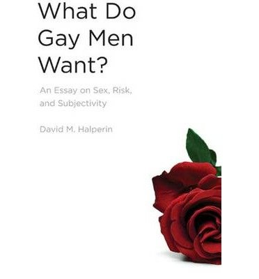 [(What Do Gay Men Want?: An Essay on Sex, Risk, and Subjectivity)] [Author: David M. Halperin] published on (January, 2009)