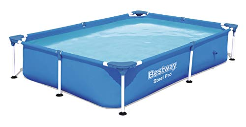 Bestway Splash Jr.Piscina Desmontable Tubular Infantil, 221 x 150 x 43 cm