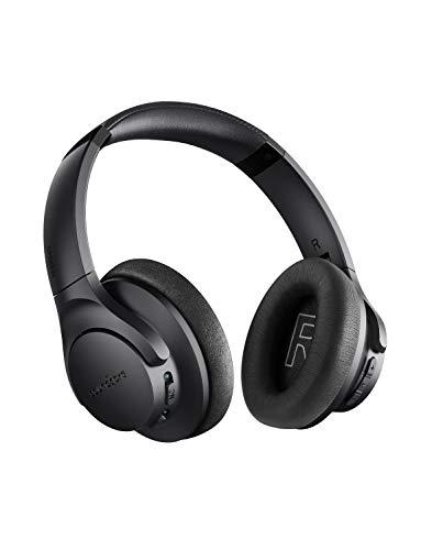 Soundcore Life 2 Bluetooth Kopfhörer, Active Noise Cancelling Kopfhörer Kabellos Over Ear Headset mit Hi-Res Audio Qualität und Mikrofon mit CVC Geräuschisolierung [Bis zu 60 Std]
