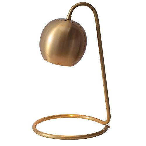 Mrtie Nordic Kupfer Tischlampe, Personalisierte Romantische Schlafzimmer Nachttischlampe, Einfache Wohnzimmer Dekoration Lampe, Kreative Studie Leselampe Größe: 23 * 40 Cm