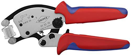 Knipex Twistor16 97 53 18 Crimpzange Aderendhülsen 0.14 bis 16mm²