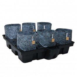 Systeme hydroponique Big Pot Pouch Hydro 100-6 - Platinium Hydroponics- hydro-terre-coco