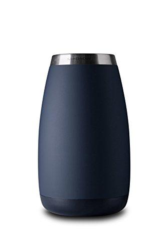 Mandahorn Aktiv-Flaschenkühler / Weinkühler Celsius Black Blue Matt (Black Blue)