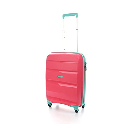 American Tourister TrolleyBagaglio a mano BON AIR Spinner S Coral/Acquamarine art. 59422 0930
