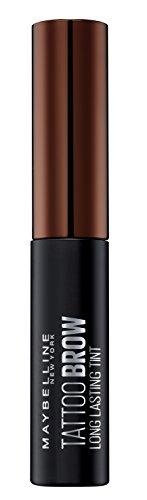 Maybelline new york tinta per sopracciglia peel-off tattoo brow risultato definito fino a 3 giorni, 3-dark brown, 4.6 g