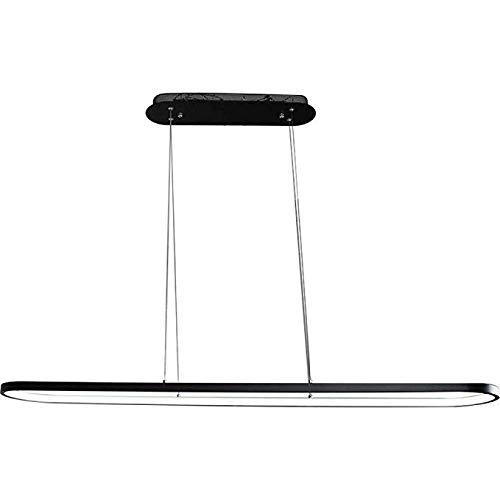 XUEGM-Light Einfache Streifen Büroleuchten, Kreative Persönlichkeit Restaurant Kronleuchter Post Moderne Nordic Wohnzimmer Lampen Schlafzimmer Restaurant Bar Kunst LED -