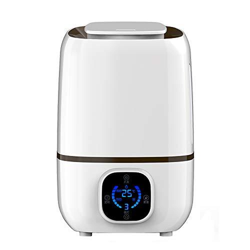 GYZ Humidificateur ultrasonique à Brume fraîche 3L Humidité constante Pure, Intelligente et silencieuse Machine Machine d'aromathérapie SH Arrêt Automatique sans Eau Button Bouton Tactile //+