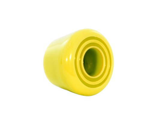 Rio Roller,  Rollschuh-Bremsstopper, Unisex, Erwachsene Einheitsgröße gelb