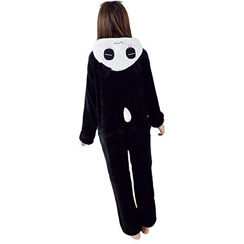 ANDAY Cartoon Tier Onesie Jumpsuits Damen Herren Pyjama Nachtwäsche Halloween Cosplay Schlafanzug Kleidung Panda