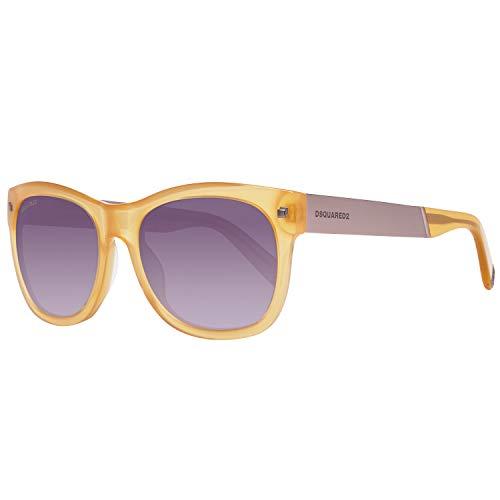 Dsquared2 Herren DQ0162 39W 54 Sonnenbrille, Creme,