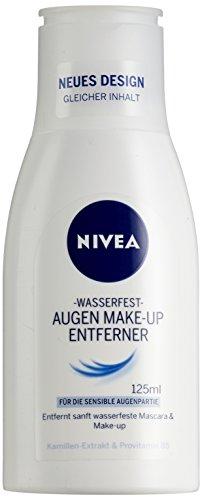 Nivea Augen Make-Up Entferner Balsam wasserfest, 1er Pack (1 x 125 ml)