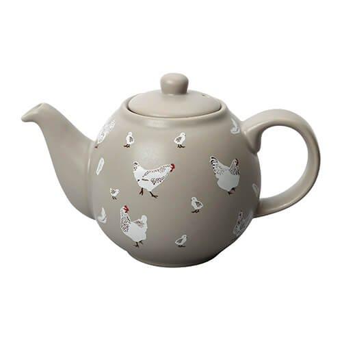 London Pottery Globe Théière 6 tasses sauts par Pierre