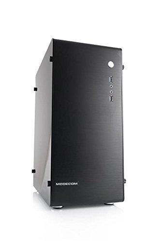 Preisvergleich Produktbild MODECOM M2 ALFA COMPUTER CASE BLACK NO PSU (AM-ALM2-10-0000000-0002)