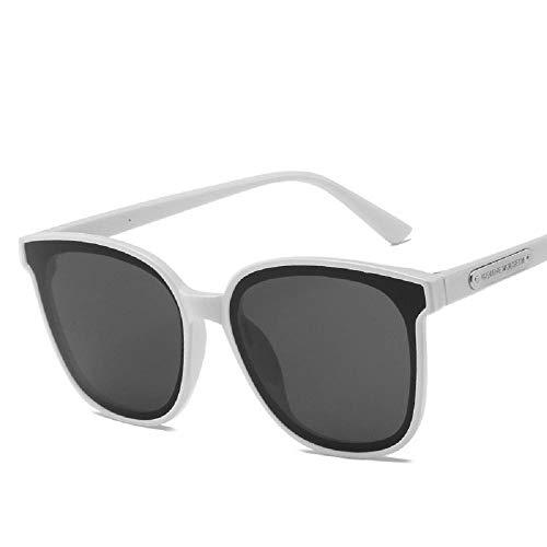 XIAONK Sonnenbrillen Sonnenbrillen mit großem Gestell Trends Polarisierte Herren-Sonnenbrillen@Weiß