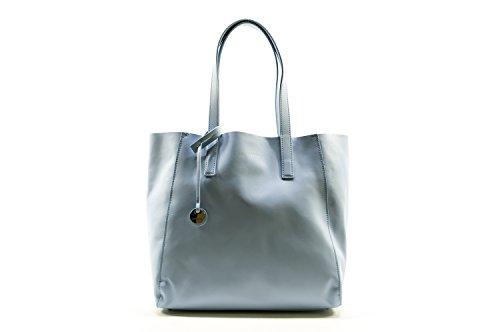 Coccinelle Janis shopping bag calf leither Iris