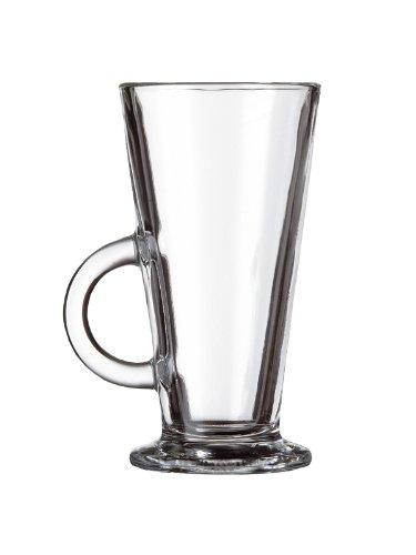 6 Latte Macchiato Edel Kaffee Kaffeegläser Longdrink Gläser Glas Neu 28 cl Griff Various
