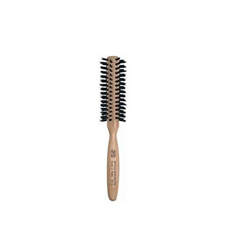 3 vE premiere 2016 - Brosse pour Cheveux avec Manche en Bois de HÊTRE et poils résistant, diamètre 50 mm