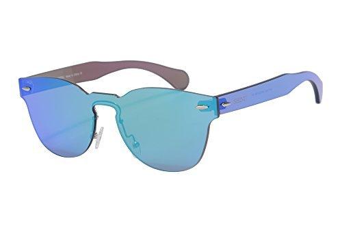 0dc1c4dfc9 SHINU Clasico Marco Redondo Espejo Gafas de sol de moda Gafas de sol  populares.