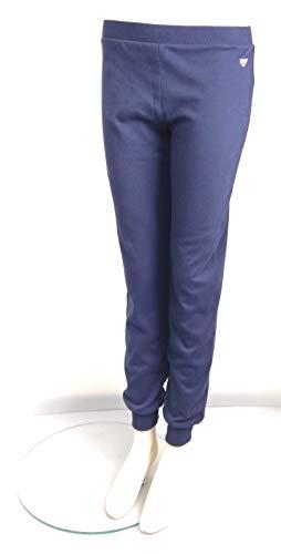 Emporio Armani Pantalones con pu os para Mujer 52135 Deep Blue M