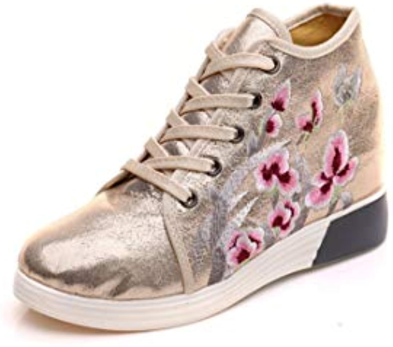 Bordado Zapatos/Alpargatas/ Merceditas/Calzado de Tela para Mujer y Ocio Deportivo