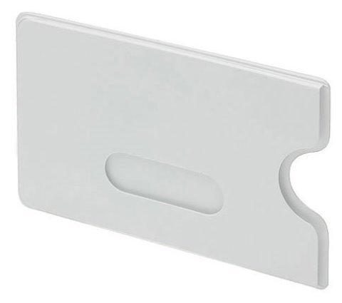 Doppelpack Kartentresor WEISS - Schutzhülle für Bankkarte oder vieles mehr - Hülle für ec-Karte - 2 Stück