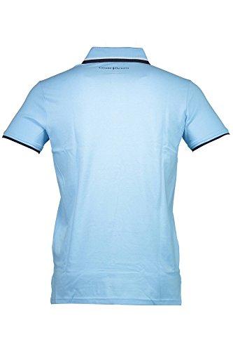 CESARE PACIOTTI CP30PS Polohemd mit kutzen Ärmeln Harren blau SKY BLUE