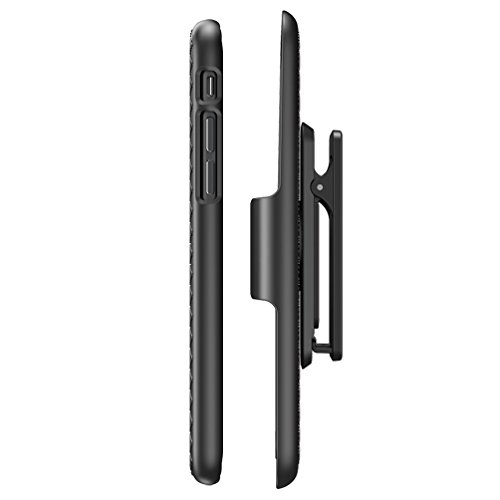 Custodia / guscio / cover / case iPhone 6s , i-Blason® [trasformer] iPhone 6 Plus / 6s custodia sottile slim con guscio duro e con cavalletto Kickstand (nero) nero
