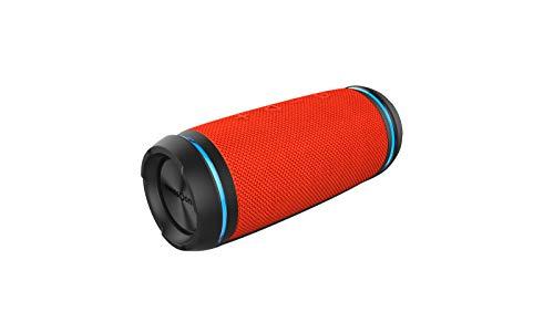 swisstone BX 520 TWS Bluetooth Lautsprecher (Wasserdicht nach IPX6 Standard, Freisprechfunktion, True Wireless Stereo, X-Bass Technologie) orange Orange Bluetooth