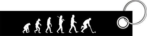 Feldhockey Unihockey Hockey Eishockey Evolution Schlüsselanhänger Schlüsselband Keyholder Lanyard