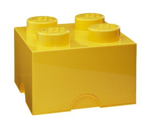 """'Lego storage caja de """"4amarilla"""