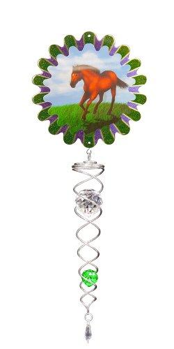 Twister cristal décoratif d'Iron Stop Animé Cheval ACT240-4M