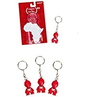 Kidrobot RED Special Edition Bot Keychain Art Of Africa (TUCBG001) by Kidrobot