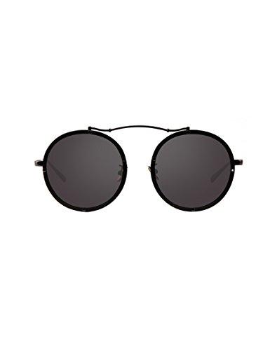 Mode Gezeiten polarisierte Sonnenbrille Weibliche runde Gesicht fahren Sonnenbrille Weibliche Retro-Rahmen Gläser ( Farbe : 2 )