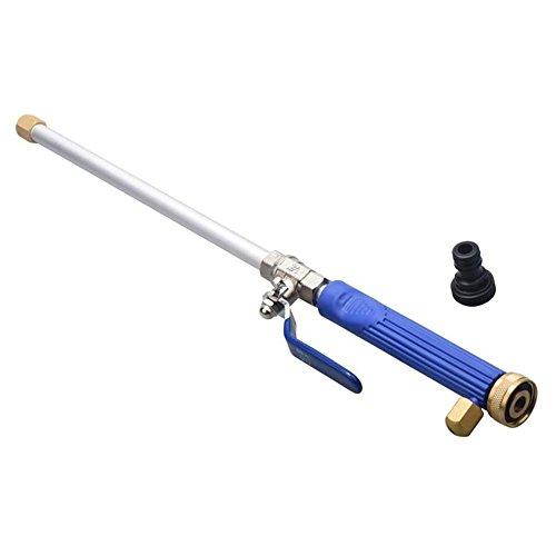 KKmoon Pistola per Auto Tubo di Lavaggio in Lega di Buona Qualità Buona Acqua di Alimentazione ad Alta Pressione per Auto del Tubo Flessibile Pistola a Spruzzo con 2 Attrezzi per Spruzz, Blu scuro