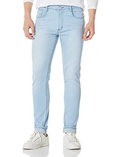 Demon&Hunter 808 Serie Uomo Magro Sottile Jeans DH8008(33)