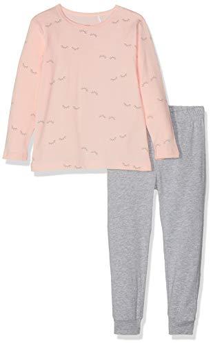 NAME IT Mädchen NMFNIGHTSET Strawberry Cream AOP NOOS Zweiteiliger Schlafanzug, Mehrfarbig (Herstellergröße:104)