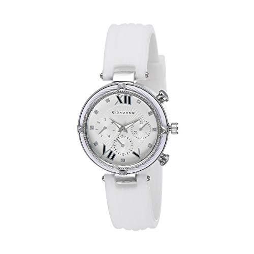 Giordano Analog White Dial Women's Watch-C2121-01
