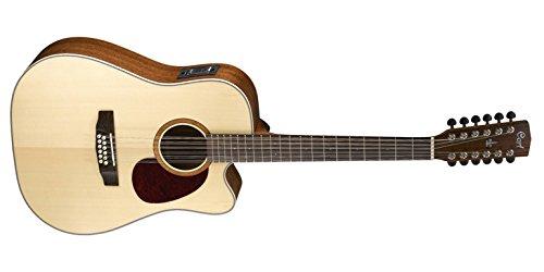 CORT MR710F12-NS Dreadnought Cutaway 12-String Elektro-Akustische Gitarre