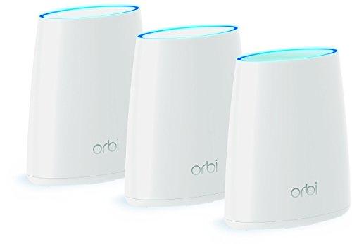 Netgear  Orbi WiFi Mini RBK43 Sistema Wireless, Unico Nome di Rete in Tutta la Casa, Copertura fino a 375 m2