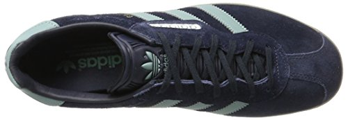 adidas Gazelle Super, Scarpe da Ginnastica Basse Uomo Blu (Night Navy/vapour Steel/gold Metallic)