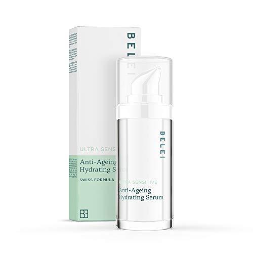 Marque Amazon - Belei - Sérum hydratant anti-âge pour peaux très sensibles, 30 ml