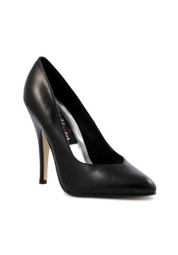 Pleaser Seduce-420v Damen Pumps Schwarz